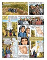 Fatima apparitions vierge Marie BD rayons lumière